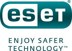 ESET logo - Stacked - Colour - Heavy Turq tag - RGB